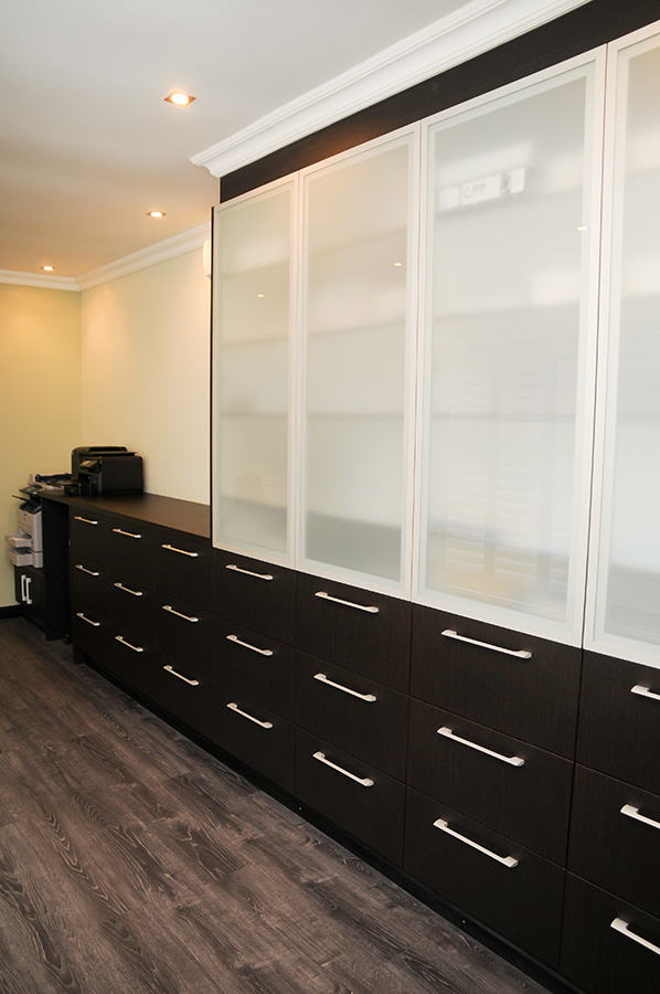 office cupboard designs. Stripped Wengi PVC Wrap Office Cupboard Designs