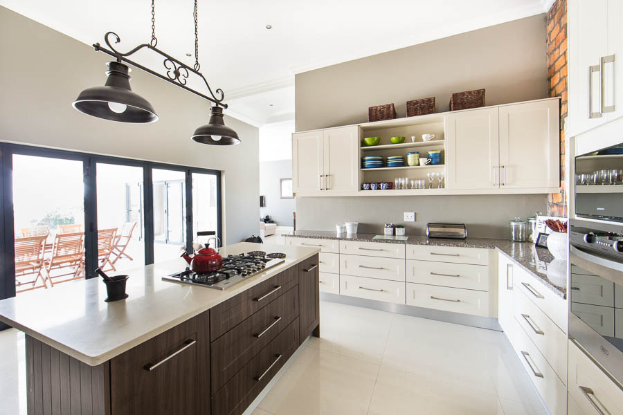 Cappucino And American Walnut Pvc Wrap Essential Kitchens