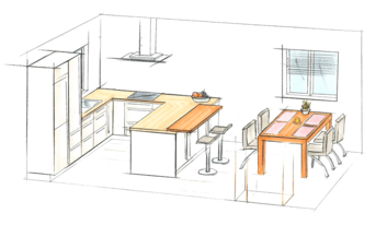 Plan your perfect kitchen layout the working triangle - Kitchen layout tool free ...